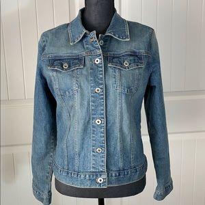 Gap Factory Store Stretch Denim Button Down Jacket